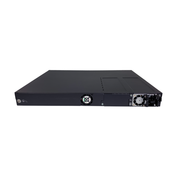 black metal rectangular box back view SS3GR6028X