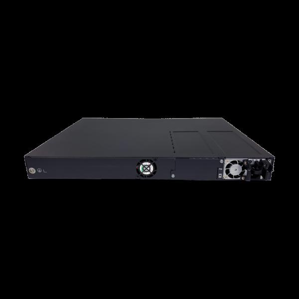 black metal rectangular box back view SS3GR6028XP