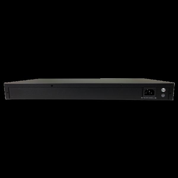 black metal rectangular box back view SS3GR5228X
