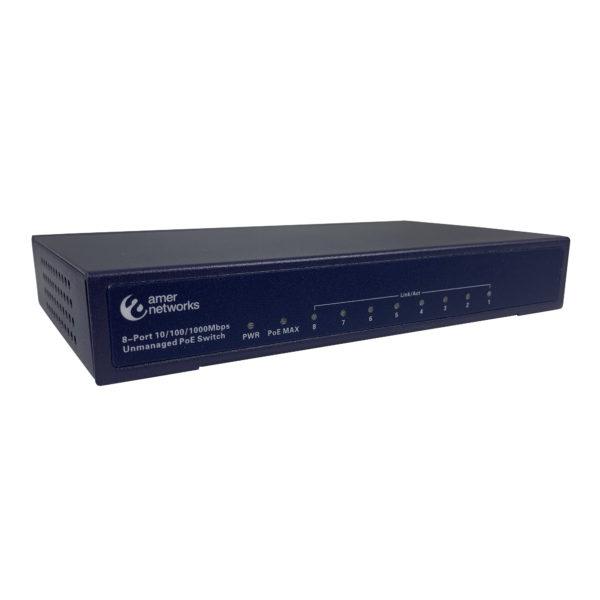 Amer Networks SG8P Gigabit PoE 802.3at